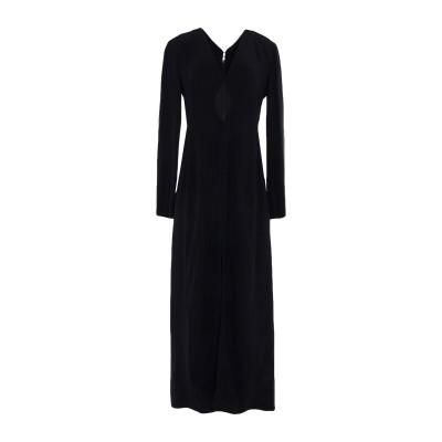 ドンダップ DONDUP ロングワンピース&ドレス ブラック 42 レーヨン 50% / アセテート 50% ロングワンピース&ドレス