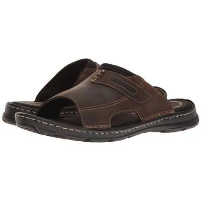 ロックポート Darwyn Slide 2 メンズ サンダル Brown II Leather
