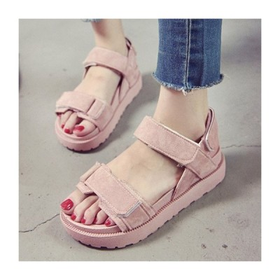 サンダル レディース ウエッジソール 痛くない 歩きやすい ストラップ 幅広 履きやすい 安い フラット 軽い 海 プール 脚長 美脚 走れる 疲れない