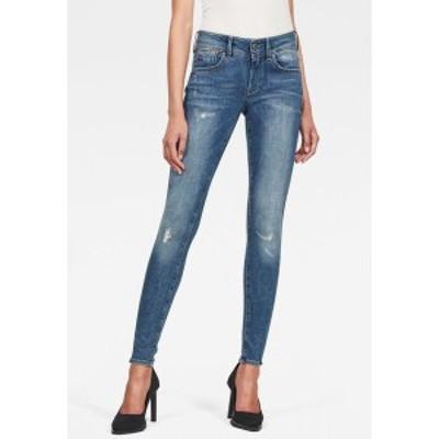 ジースター レディース デニムパンツ ボトムス LYNN  - Jeans Skinny Fit - blue blue