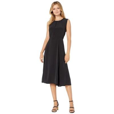 ボボウ B Collection by Bobeau レディース ワンピース ミドル丈 ワンピース・ドレス Francis Midi Dress Black
