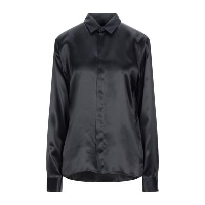 ハイダー アッカーマン HAIDER ACKERMANN シャツ ブラック 34 シルク 100% シャツ