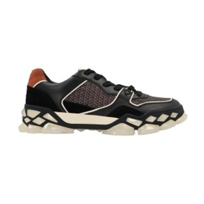 JIMMY CHOO/ジミーチュウ Black   Diamond X Trainer sneakers メンズ 秋冬2021 DIAMONDXTRAINERMFHFXBLACKMIX ju