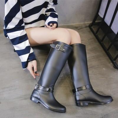 雨靴 シューズ レインシューズ レディース 長靴 撥水 防水 全店2点 ロング丈 レインブーツ ブーツ