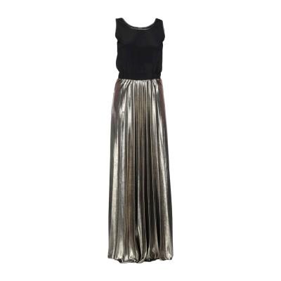 アイムパーフェクト !M?ERFECT ロングワンピース&ドレス ブラック S ポリエステル 100% ロングワンピース&ドレス