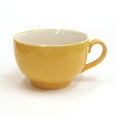 スープカップ イエロー 片手スープカップ おしゃれ カフェ食器 業務用 美濃焼 9b476-14