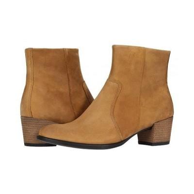ECCO エコー レディース 女性用 シューズ 靴 ブーツ アンクル ショートブーツ Shape 35 Mid Boot - Camel