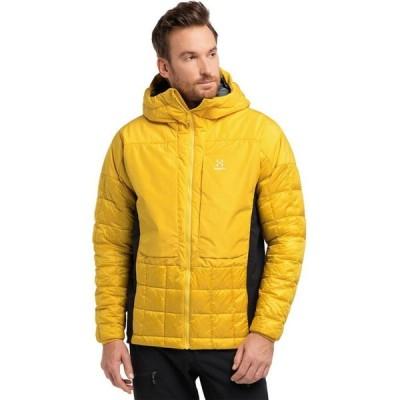 ホグロフス Haglofs メンズ ジャケット フード アウター Nordic Mimic Hooded Jacket Pumpkin Yellow/True Black