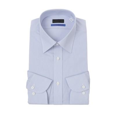 ワイドカラースタイリッシュワイシャツ《プレミアム》《日本製生地使用》