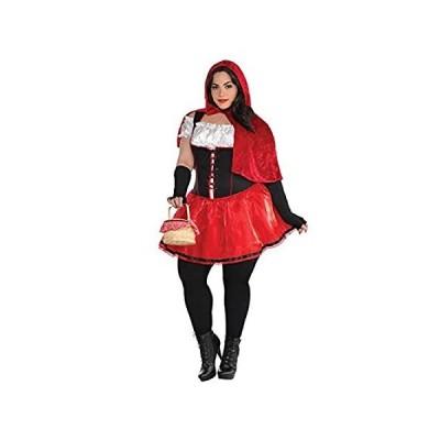 AMSCAN Adult Sassy Riding Hood-Plus Size (18-20)