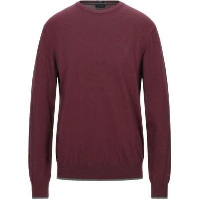 アルマーニ ジーンズ ARMANI JEANS メンズ ニット・セーター トップス Sweater Garnet