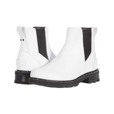 SOREL ソレル レディース 女性用 シューズ 靴 ブーツ チェルシーブーツ アンクル Lennox(TM) Chelsea - White