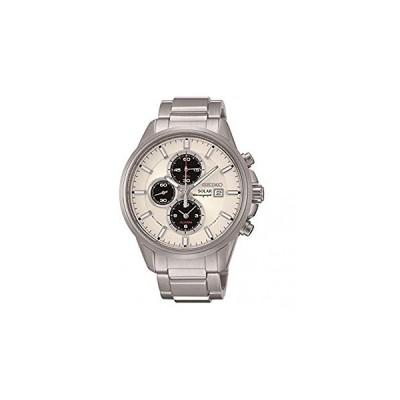 腕時計 セイコー メンズ SSC251P1 Seiko Men's SSC251P1 Solar Chronograph Stainless Steel 100M Water Re