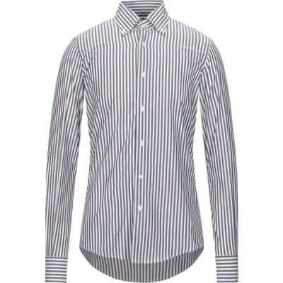 タケシ クロサワ TAKESHY KUROSAWA メンズ シャツ トップス striped shirt Cocoa