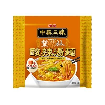 明星食品 中華三昧 赤坂榮林 酸辣湯麺 103g×12個