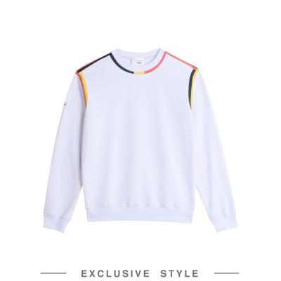 Y/PROJECT x YOOX スウェットシャツ ホワイト XS コットン 100% スウェットシャツ