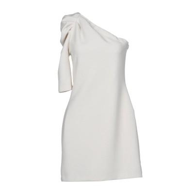 カオス KAOS ミニワンピース&ドレス アイボリー 44 95% ポリエステル 5% ポリウレタン ミニワンピース&ドレス
