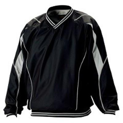 ゼット ZETT 野球用 長袖Vネックジャンパー [カラー:ブラック] [サイズ:M] #BOV410 スポーツ・アウトドア