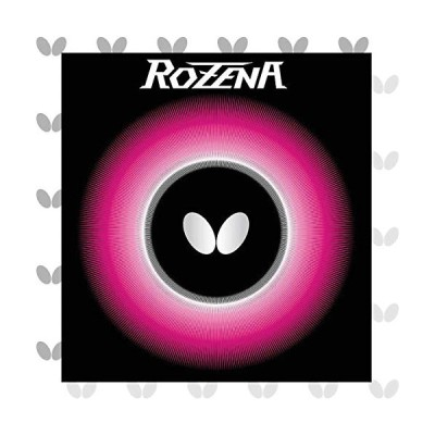 バタフライ(Butterfly) 卓球用裏ラバー ロゼナ 06020 ブラック 特厚