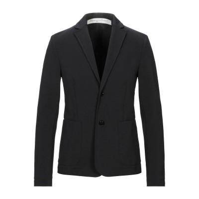OBVIOUS BASIC テーラードジャケット ブラック 56 コットン 59% / ナイロン 34% / ポリウレタン 7% テーラードジャケット
