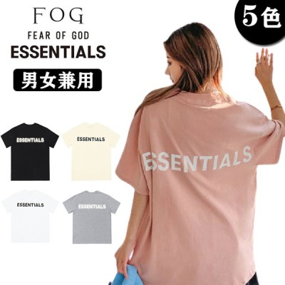 Fear of God 半袖 Tシャツ FOG ESSENTIALS エフオージー FOG ESSENTIAL 男女兼用 メンズ レディース プレゼント