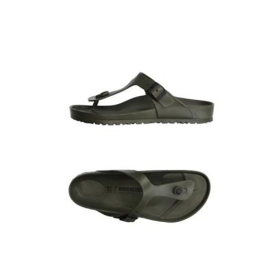 ビルケンシュトック BIRKENSTOCK メンズ ビーチサンダル シューズ・靴 flip flops Military green