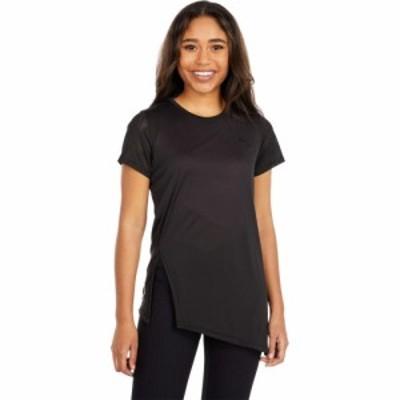 プーマ PUMA レディース Tシャツ トップス Studio Lace Short Sleeve Tee PUMA Black