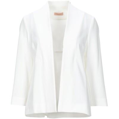 MAESTA テーラードジャケット ホワイト 42 ポリエステル 95% / ポリウレタン 5% テーラードジャケット