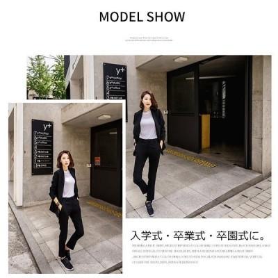 卸売可パンツスーツスーツ風セットアップ韓国ファッションレディースパーティーセットアップジャケットパンツ長袖スーツ風OLビジネスオフィスフォーマル  931