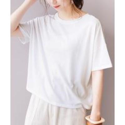 レカバックスリットシアーTシャツ(200412) 【お取り寄せ商品】