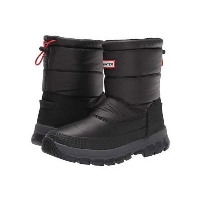 ハンター Original Insulated Snow Boot Short メンズ ブーツ Black