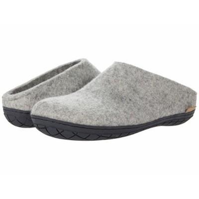 グリオプス サンダル シューズ メンズ Wool Slip-On Rubber Grey/Black Rubber