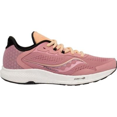 サッカニー Saucony レディース ランニング・ウォーキング シューズ・靴 Freedom 4 Running Shoes Rosewater