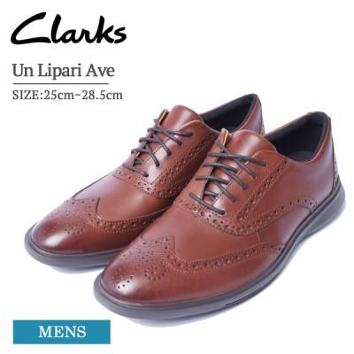 CLARKS クラークス メンズ カジュアル シューズ 紳士靴 靴 くつ 通勤 通学 Mahogany Leather マホガニー レザー ブラウン 革靴 レース Un Lipari Ave 26149679
