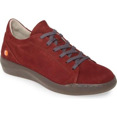 フライロンドン SOFTINOS BY FLY LONDON レディース スニーカー シューズ・靴 Bauk Sneaker Dark Red Leather