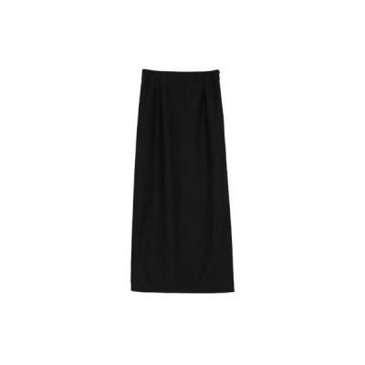 ユアーズ ur's ロングタイトスカート (ブラック)