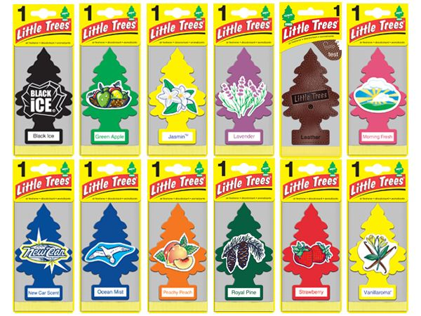 Little Trees-加州淨香草 小樹香氛片-全系列味道【D101013】