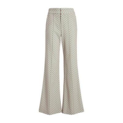アリス アンド オリビア レディース カジュアルパンツ ボトムス Dylan High Waist Flare Leg Printed Pants SLSTC