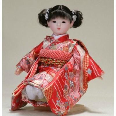 日本のおみやげ お土産 市松人形 日本人形 13号瞳