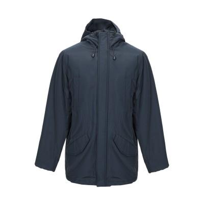 CIESSE PIUMINI コート ダークブルー 54 コットン 65% / ナイロン 35% コート