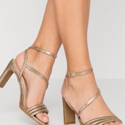 ディヴァインファクトリー レディース サンダル High heeled sandals - gold