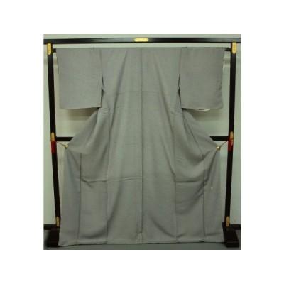 お仕立て上がり 正絹伝統工芸伊勢型写 引彫り 毛万筋0070 白黒