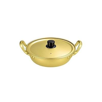 パール金属 プチクック アルミ製 煮込み うどん 鍋 18cm 【ガス火専用】 HB-2462
