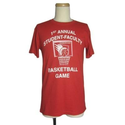 バスケットボールプリントTシャツ メンズS 古着