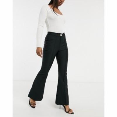 リバーアイランド River Island レディース ジーンズ・デニム ボトムス・パンツ Flared Jeans In Black ブラック