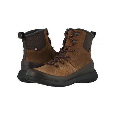 Bogs ボグス メンズ 男性用 シューズ 靴 ブーツ レースアップ 編み上げ Freedom Lace Tall - Cinnamon