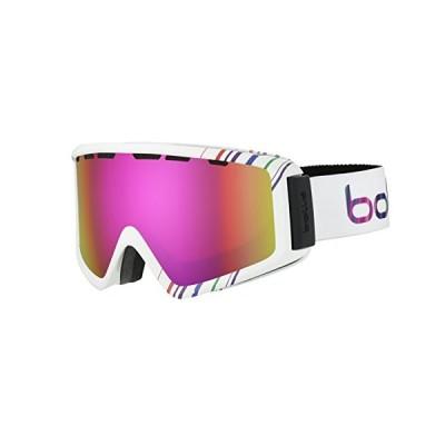 boll〓 Unisex's Z5 OTG Ski Goggles, Shiny White/pink Rose Gold, Medium/Large 並行輸入品