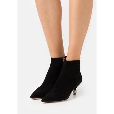 ケイト スペード ブーツ&レインブーツ レディース シューズ CHAILLOT TOP UP - Ankle boots - black
