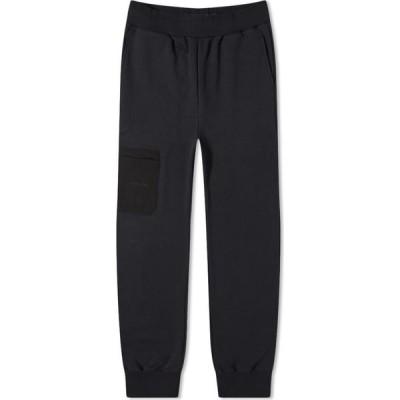 アコールドウォール A-COLD-WALL* メンズ スウェット・ジャージ ボトムス・パンツ Embroidered Logo Sweat Pant Black