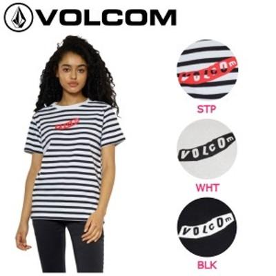 【VOLCOM】ボルコム2018春夏 SINCE FEVER S/S TEE レディース半袖Tシャツ ティーシャツ TEE トップス S-L 3カラー【正規品】